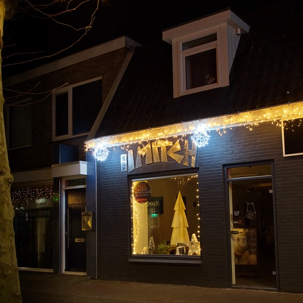 Ijspegelverlichting winkel