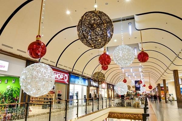 Feestverlichting winkelcentrum malideco 3-2