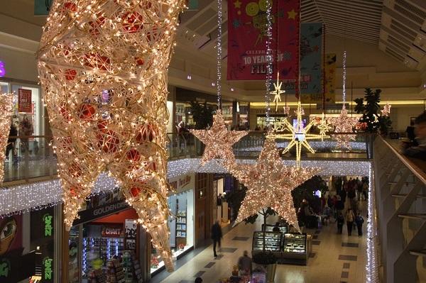 Feestverlichting winkelcentrum malideco 3-4
