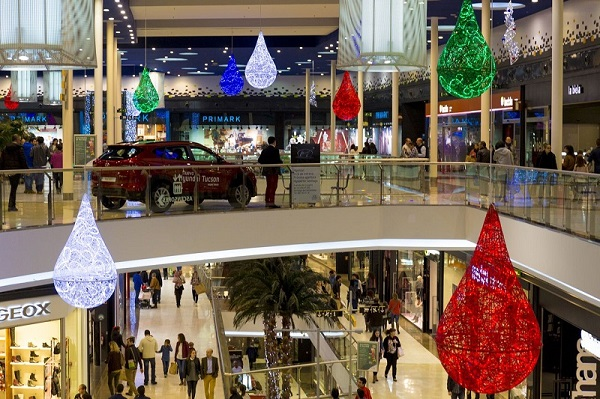 Feestverlichting winkelcentrum malideco 5-1