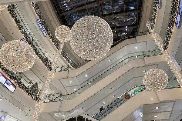 Feestverlichting winkelcentrum malideco 6-1