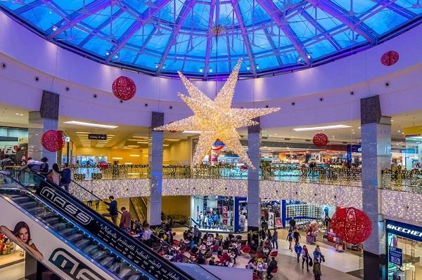 Feestverlichting winkelcentrum malideco 6-3