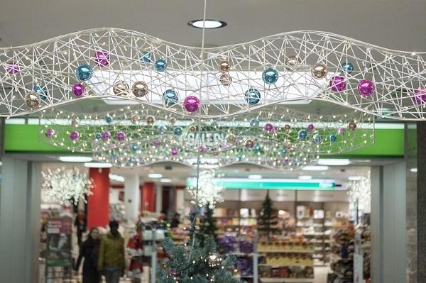 Feestverlichting winkelcentrum malideco 7-1
