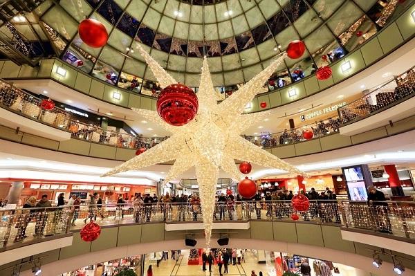 Feestverlichting winkelcentrum malideco 9-1